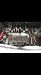 Retroescavadeira pecas do motor jcb 3c
