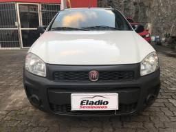 Strada Hard Working estendida completa único dono impecável - 2018