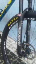 Bike audax auge 40 carbon tamanho 17.5