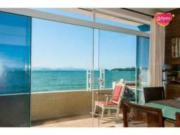 Casa frente mar com 4 dormitórios à venda, 110 m² por R$ 1.800.000 - Ribeirão da Ilha - Fl