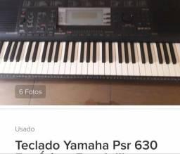 Teclado Yamaha psr 630 usado *