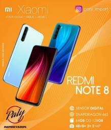 Redmi Note 8 64 GB- Branco - Lacrado ? Paty Importados