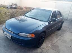 Honda Civic 1995 Lx 1.5 Automático - 1995