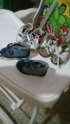 Combo de sapato de menino