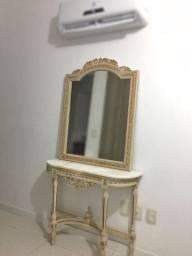 Conjunto aparador com espelho