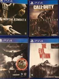 Pacote de games PS4