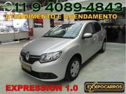 Renault Logan Expression 1.0 Flex - Ano 2017 - Bem Conservado