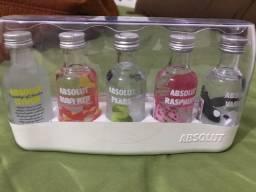 Kit miniaturas absolut vodka