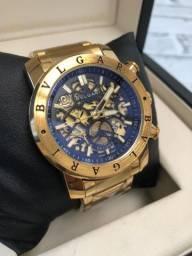 Relógio Bvlgari esqueleto #939211