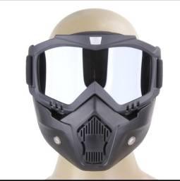 Proteção de Face - Motociclismo / Paintball