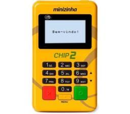 Maquininha minizinha chip 2 - Entrega Grátis(TEMOS ATACADO)
