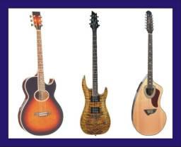 Canto, regência, teclado, guitarra, violão e fla