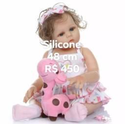 Boneca Reborn silicone