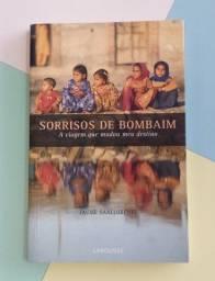 Título do anúncio: livro sorrisos de Bombaim : a viagem que mudou meu destino