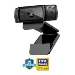 Webcam Logitech C920 Pro Full Hd Autofoco Microfone Duplo (Ac cartao)