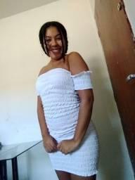 Última unidade deste vestido na cor branca