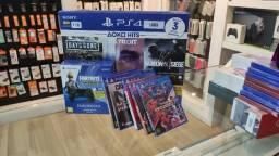 Playstation 4 1TB + 3 jogos  - Lacrado e com Garantia