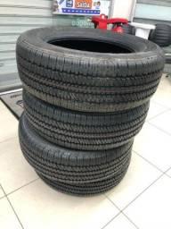 4 pneus novos BRIDGESTONE,com nota fiscal