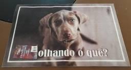 Título do anúncio: Tapete Estampado Cachorro - Emborrachado Antiderrapante