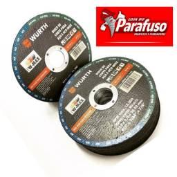 Disco De Corte P/aço E Aço Inox Wurth 115 X 1.0 X 22.23