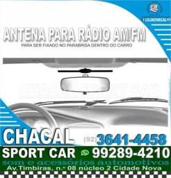 Título do anúncio: .Antena interna para rádio de carro (produto novo e nota fiscal).