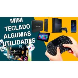 Mini Teclado Controle Bluetooth Para Smart Tv Box