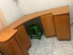 Mesa escrivaninha madeira