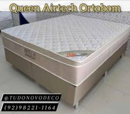 Título do anúncio: Queen Size Airtech Ortobom. Receba Hoje !!!