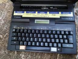 Título do anúncio: Máquina de Escrever Elétrica (Eletrônica) Canon Typestar 10-II, Não Conseguimos Funcionar