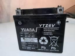 Bateria Yuasa YTZ6V em ótimo estado.