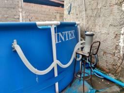 Piscina Intex <br>16000L usada