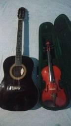 Título do anúncio: Combo de Violão e Violino.