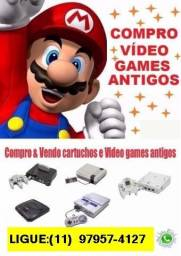 Título do anúncio: C.O.M.P.R.O. Videogames Antigos