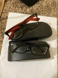 Título do anúncio: Armação óculos de grau Armani/Ry ban