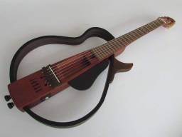 Título do anúncio: Violão Patrick Luthier Midi Estilo Silent ativo com afinador