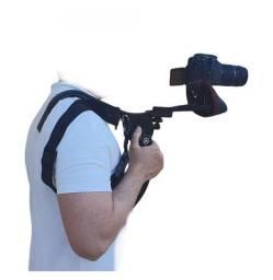 Título do anúncio: Suporte Estabilizador Ombro Filmadoras Câmeras Shoulder Pad