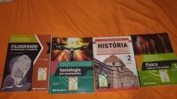Título do anúncio: Livros de filosofia/sociologia/história/física