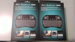 Mini Teclado Controle Sem Fio Para Smart Tv Tv Box Pc