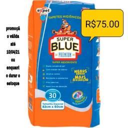 Tapete higiênico super blue Premium