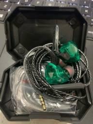 Fone de ouvido intra-auricular - Fone para retorno