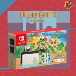 Nintendo Switch Animal Crossing V2 - Bat. Estendida | 6 meses de garantia