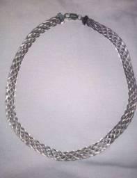 Cordão de prata feminina