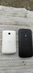 Moto G1 e LG L3
