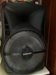 Caixa de som semp muito boa toca muito alto perfeita