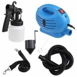 Mini Compressor Ar Kit Pintura Pulverizador Profissional 650w 110v