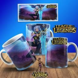 Caneca league of legends - Alta qualidade e durabilidade