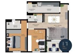Apartamento com 2 dormitórios à venda, 64 m² por R$ 188.990 - Residencial Portal da Mantiq