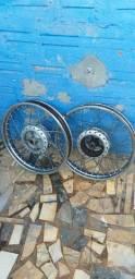Vendo rodas cg 150