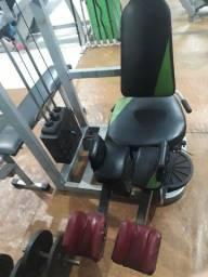 Título do anúncio: Cadeira Abdutora com bateria de peso