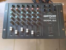 Mesa de som wattsom ciclotron 6 canais